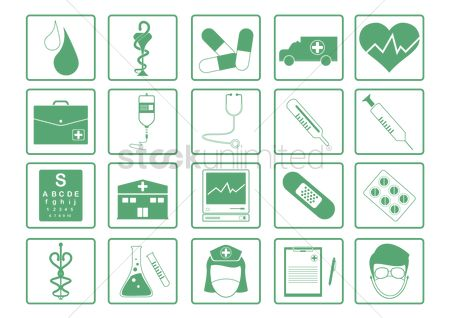 Cardiogram : Doctor icons