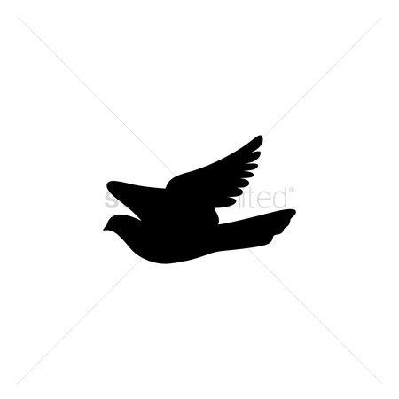 Free Dove Silhouette Stock Vectors   StockUnlimited