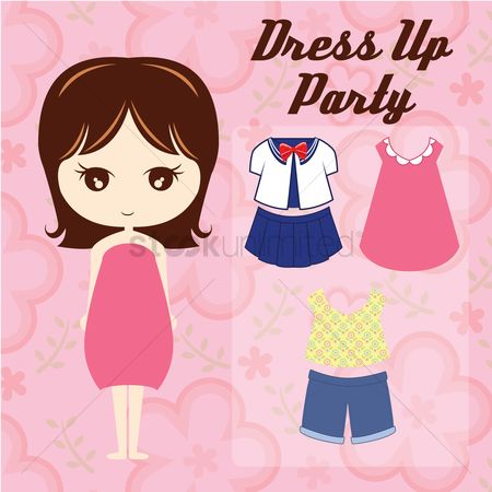 Skirt : Dress up party