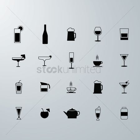 Champagnes : Drink icons