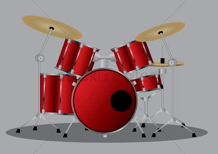 Drums : Drum set