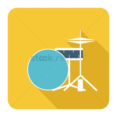 Percussions : Drums set