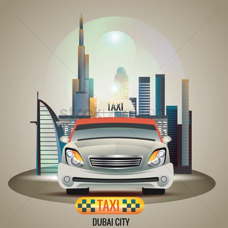 Taxis : Dubai city taxi