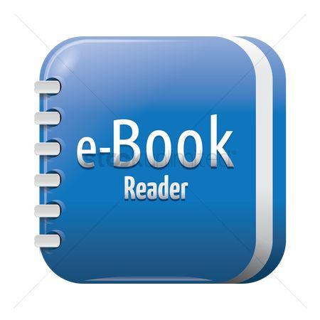 Free Ebook Reader Stock Vectors Stockunlimited
