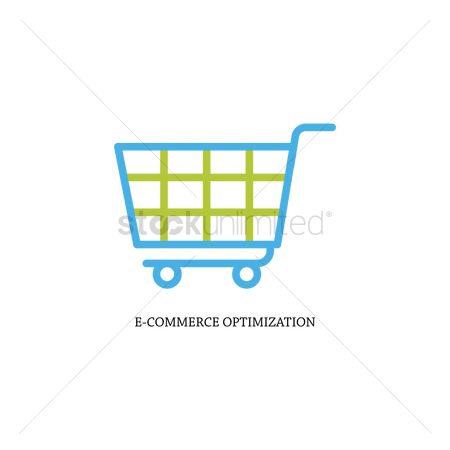 E commerces : E-commerce optimization concept