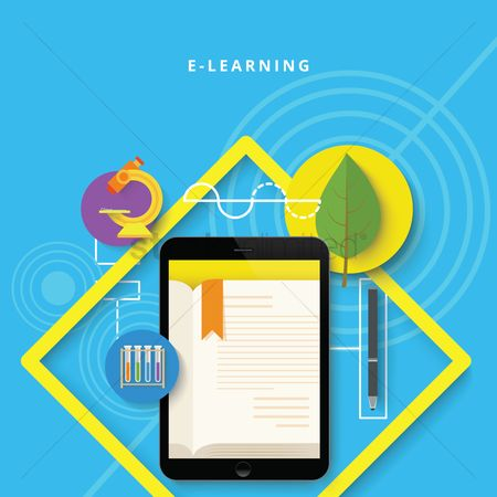 Physic : E-learning concept