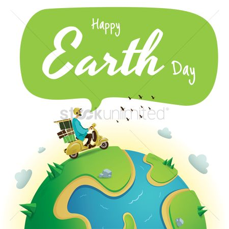Scooters : Earth day design