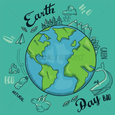 Animal : Earth day design