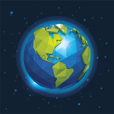 Geometrics : Earth day design