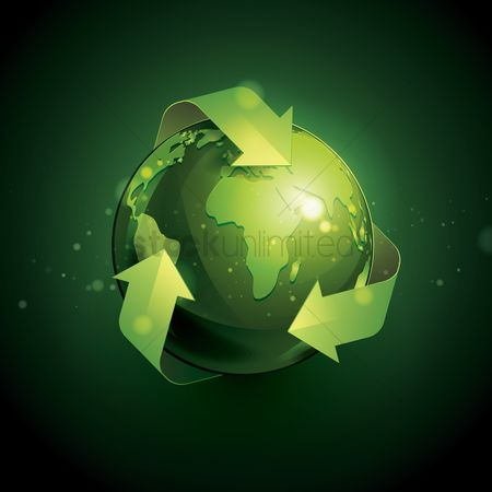 Signs : Eco globe