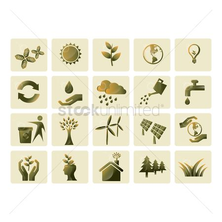 Trash can : Ecology icons