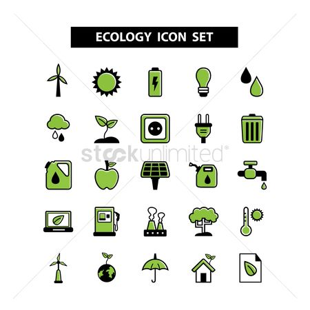 Petroleum : Ecology icons
