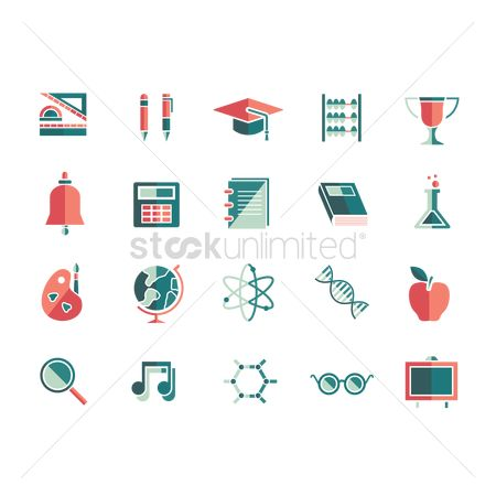 Supply : Education icons
