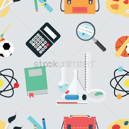Sports : Education theme background
