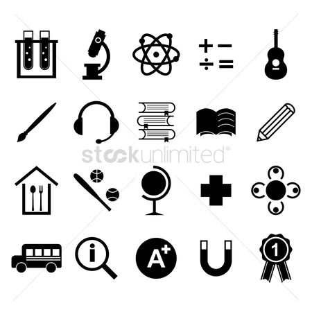 Plus : Educational icons