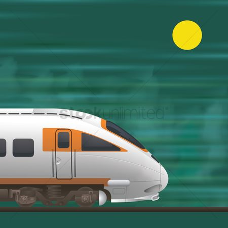 Journeys : Electric bullet train