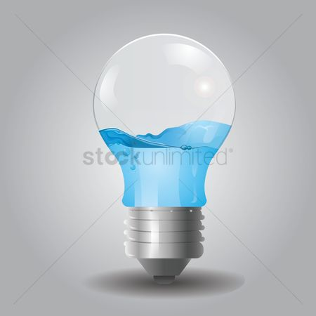 Halogen : Electric water bulb