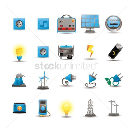 Towers : Electricity icons