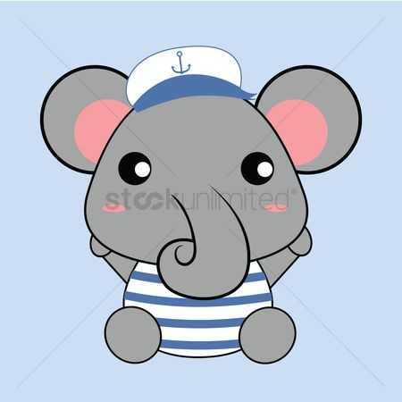 Sailors : Elephant as sailor