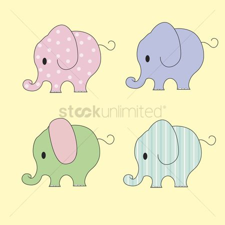 Kids : Elephants