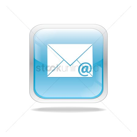Silver : Email button