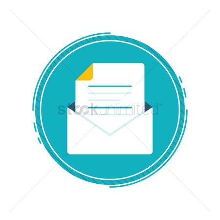 Interact : Email symbol