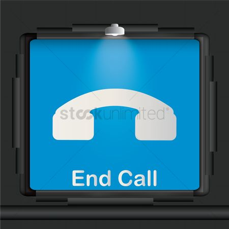 Lighting : End call advertisement board