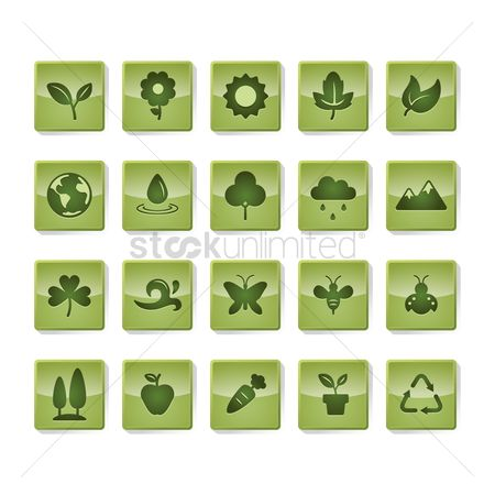 Ladybird : Environmental themed icons