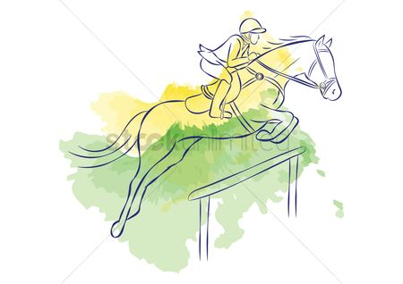 Athletes : Equestrian jumping