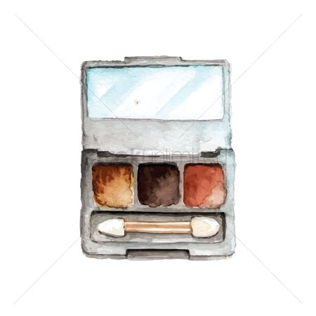 Palette : Eyeshadow palette and brush