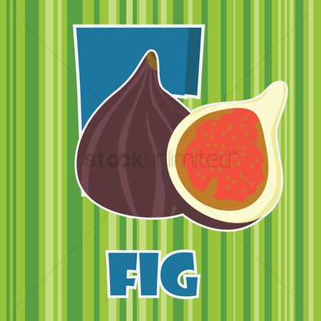 Nutritions : F for fig