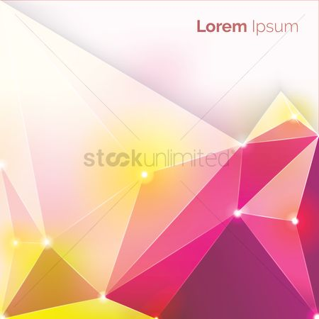 Sparkle : Faceted background