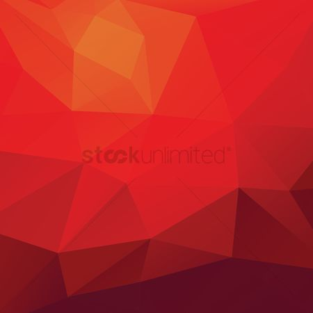Gradient : Faceted background