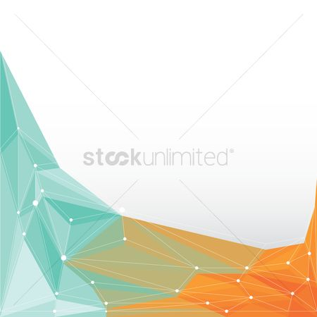 Graphic : Faceted background