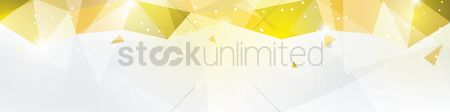 Sparkle : Faceted banner