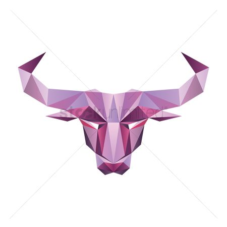 Bull : Faceted bull