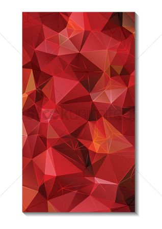 Polygon : Faceted wallpaper for mobile phone