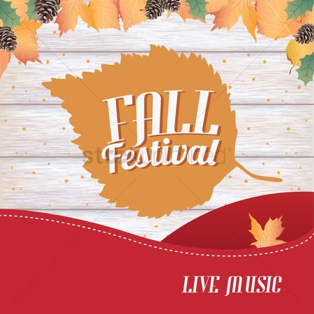 Cones : Fall festival design