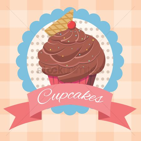 Chocolates : Fancy cupcake label