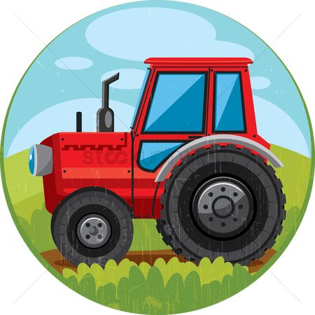 Machineries : Farm tractor