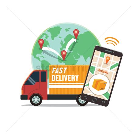 Interact : Fast delivery concept