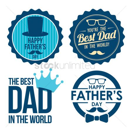 Ties : Father s day labels collection