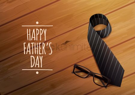 Thankful : Fathers day greeting design
