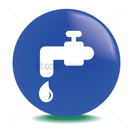 Drips : Faucet with water drop