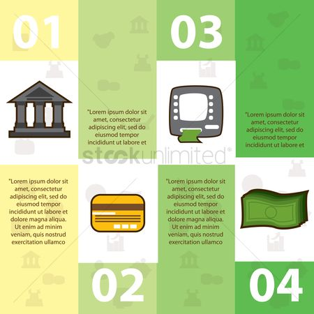 Profits : Financial infographic