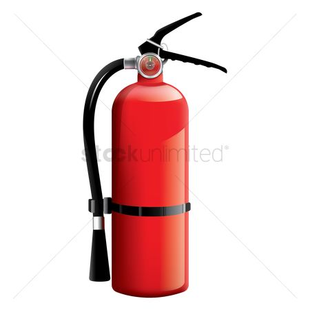 Handles : Fire extinguisher