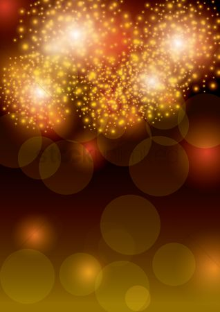 Noisy : Fireworks design background