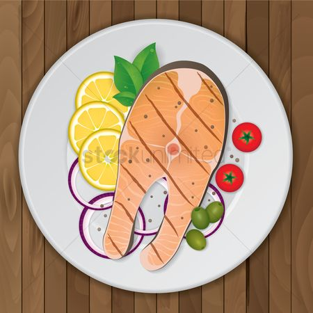 Slices : Fish platter