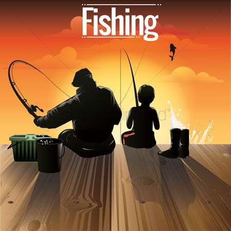 Boys : Fishing