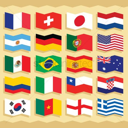 England : Flag icons